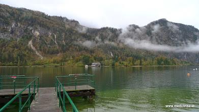 Photo: hier befinden wir uns schon am anfang vom mondsee auf unserem campingplatz, wo wir bis 1992 einen dauerstellpllatz hatten