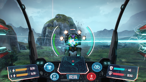 Télécharger Gratuit Robot Warfare: Mech Battle 3D PvP FPS apk mod screenshots 1