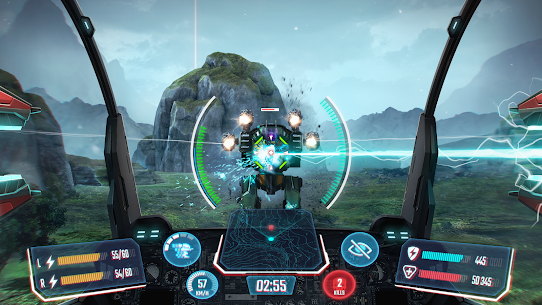 Robot Warfare: Mech Battle 3D PvP FPS (Mod apk+obb) 1