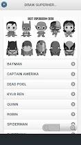 How To Draw Superhero Chibi - screenshot thumbnail 04