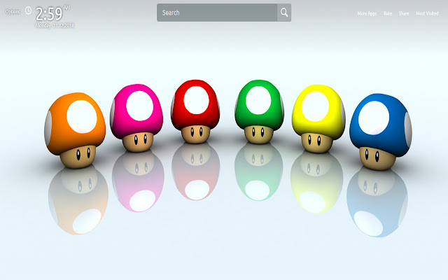 Mario Wallpapers Theme New Tab