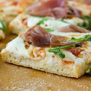 N0-Yeast, No-Rise Pizza Dough.