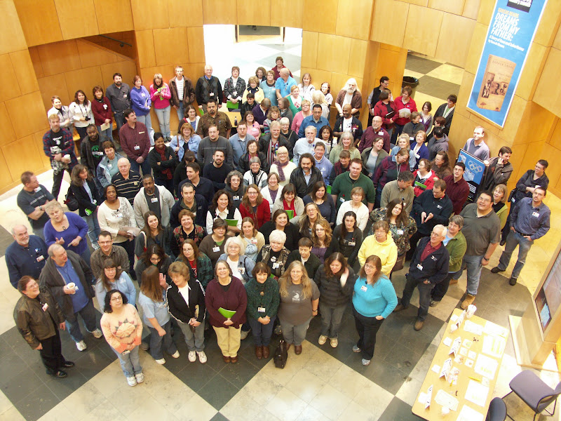 Photo: Our staff (well, about 1/3 of them anyway)