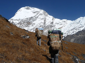 Photo: Hunku valley and Chamlang (7319m) behind