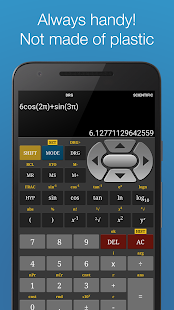 Scientific Calculator Pro Screenshot