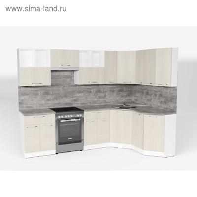 Кухонный гарнитур Лариса оптима 5 2700*1600 мм