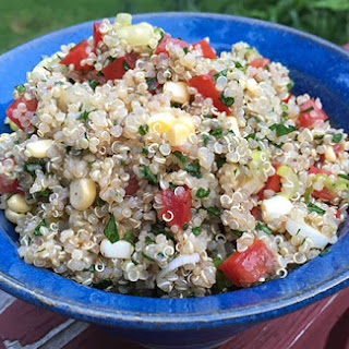 Quinoa Tabbouleh with Corn and Chia.