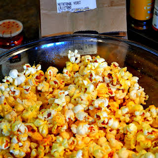 Nutritional Yeast and Cayenne Seasoned Popcorn.