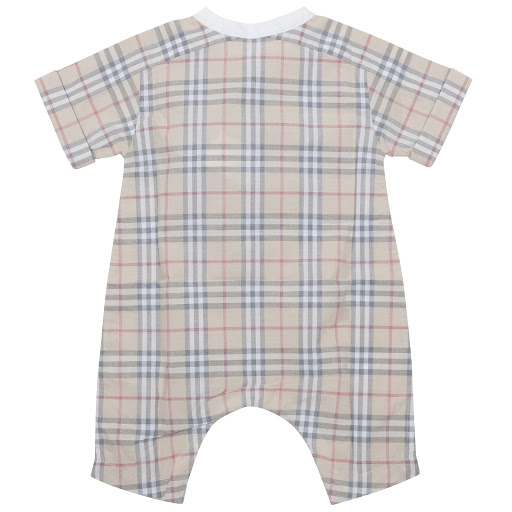 Thumbnail images of Burberry Check Baby Shortie