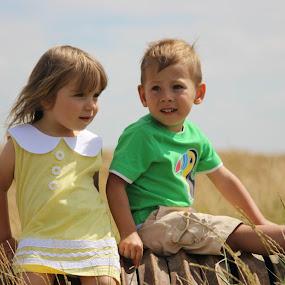 by Monika Wierzbicka - Babies & Children Child Portraits ( boy, love · family · children · happiness · toddler · smile )