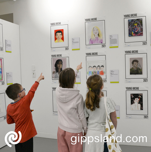 Voting for your 'Crowd Favourite' is now open! Simply click on the 'Vote Now' button to vote for your favourite finalist entry of the Young Archie exhibition, One Crowd Favourite finalist from each age group will receive a prize