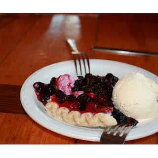 Huckleberry Cream Pie.