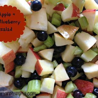 Apple Blueberry Salad – #glutenfree #vegan #raw
