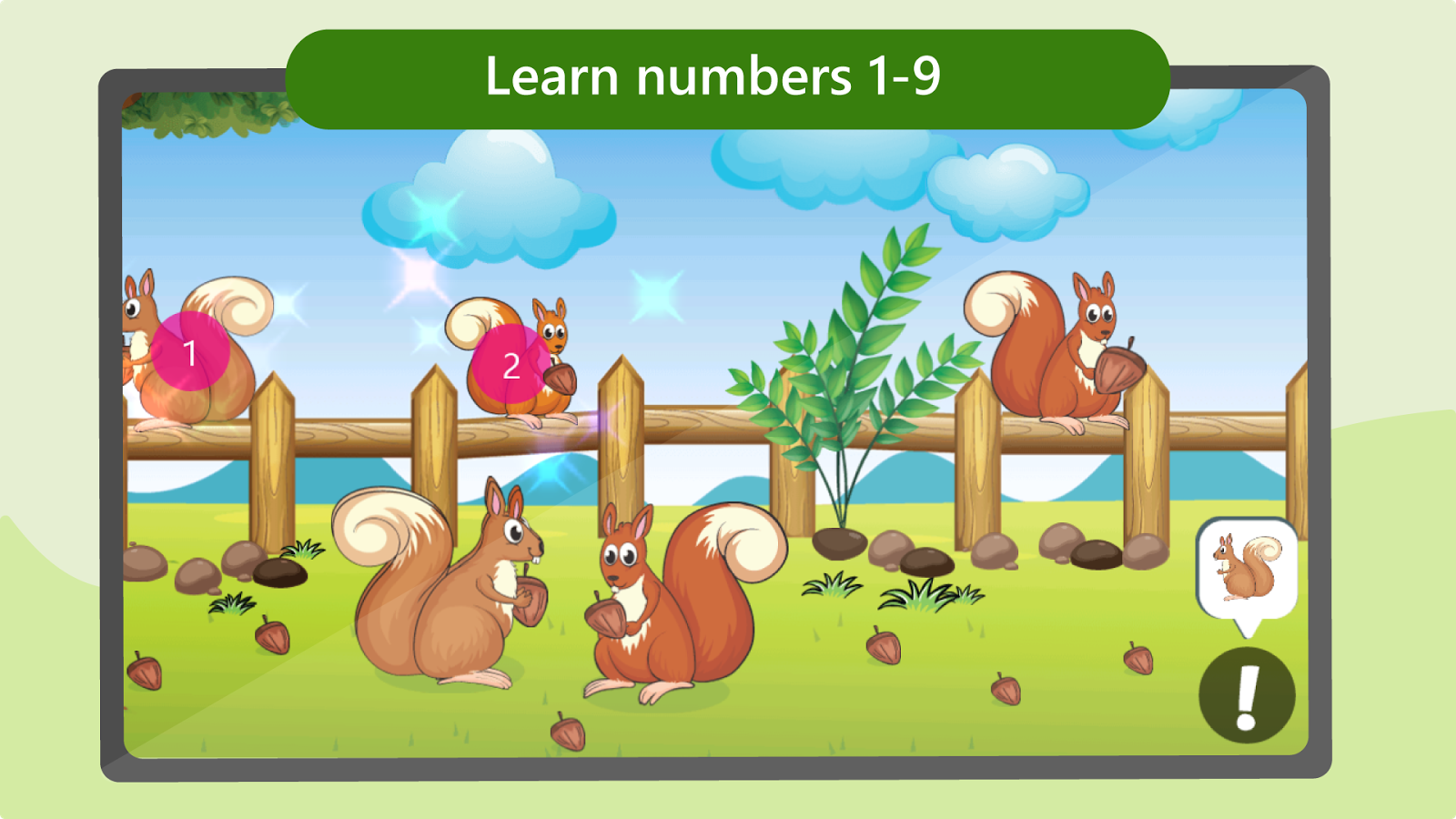 Game color chart - Game Color For Kid Preschool Learning Games Kids Screenshot