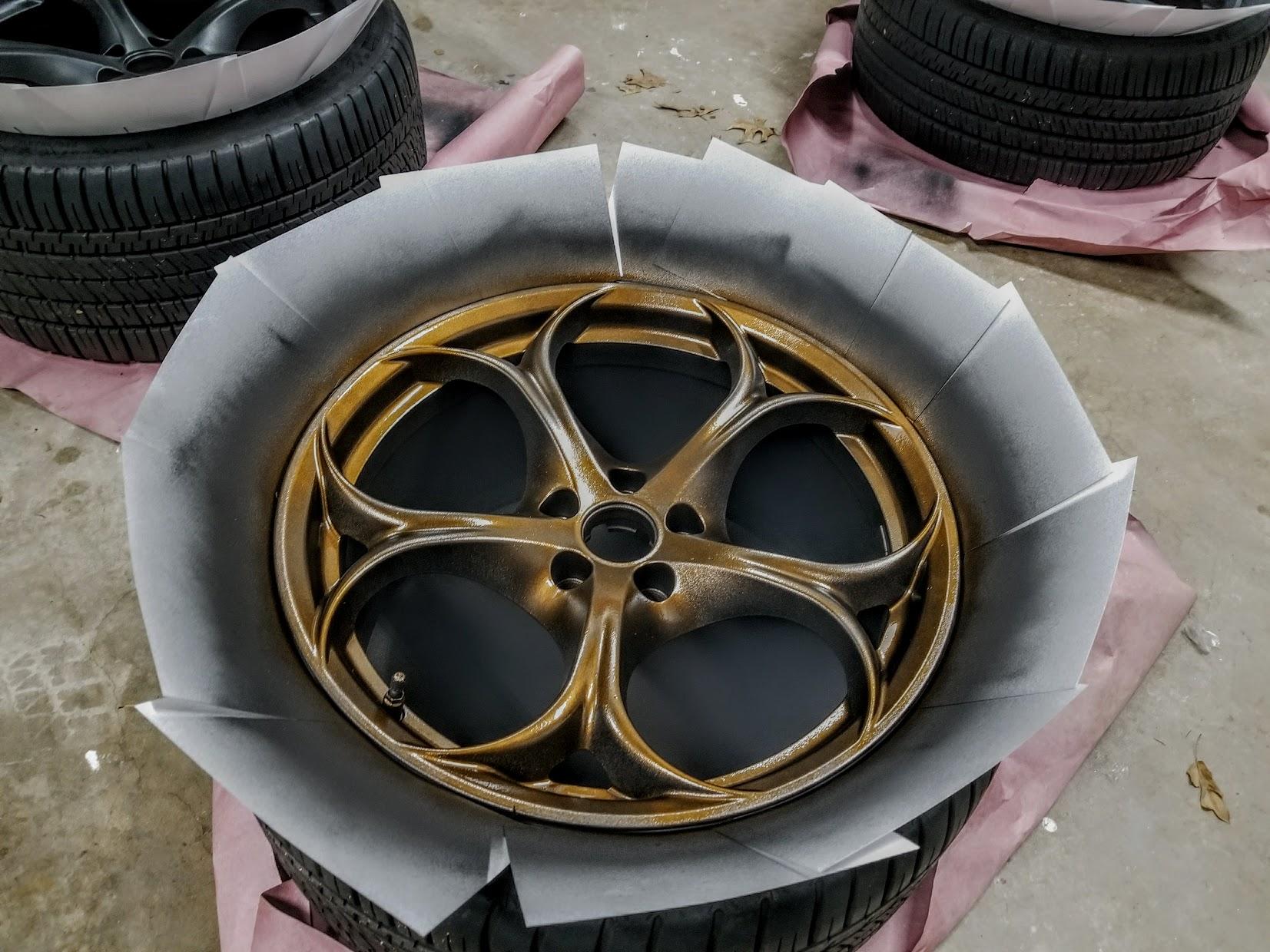 post  wheel  tire pics alfa romeo giulia forum