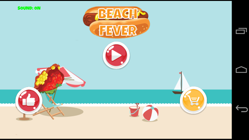 Beach Fever Dash Cooking Game