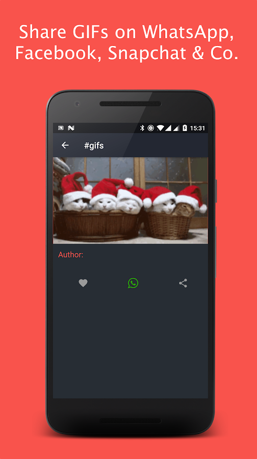 GIF for WhatsApp & Facebook- screenshot