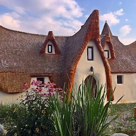 Castelul zanelor by Dobrin Anca - Buildings & Architecture Other Exteriors ( holiday, romania, castle, garden, wonderful,  )