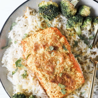 Slow-Roasted Curry Salmon.