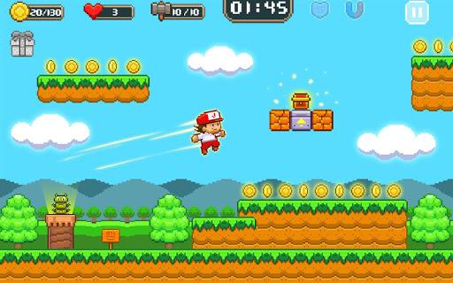 Super Jim Jump - pixel 3d 3.5.5002 Screenshots 19
