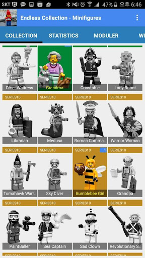 EndlessCollection Minifigs
