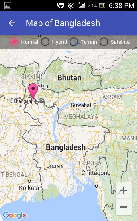 Map Of Bangladesh Android Apps On Google Play - Bangladesh map