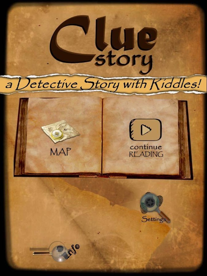 CLUE STORY - The Riddle Book- screenshot