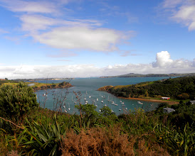 Photo: Lookout view from Waiheke Island