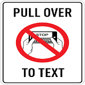 PULL OVER TO TEXT ® Free