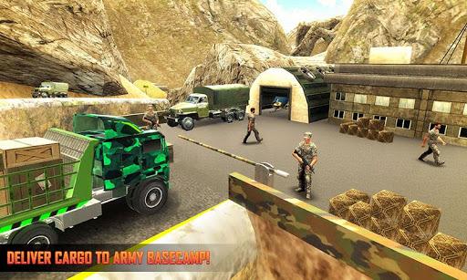 Army Tank Transport Plane Sim : Army Transporter screenshots 2