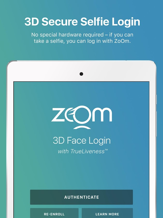 ZoOm Login- screenshot