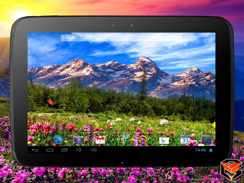 Mountain Flowers Pro Live Wallpaper Screenshot 12