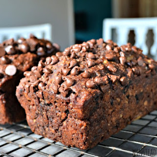 Better-for-You Triple Chocolate Banana Bread