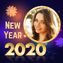 Happy New Year Photo Frames - Greeting Cards 2020 icon
