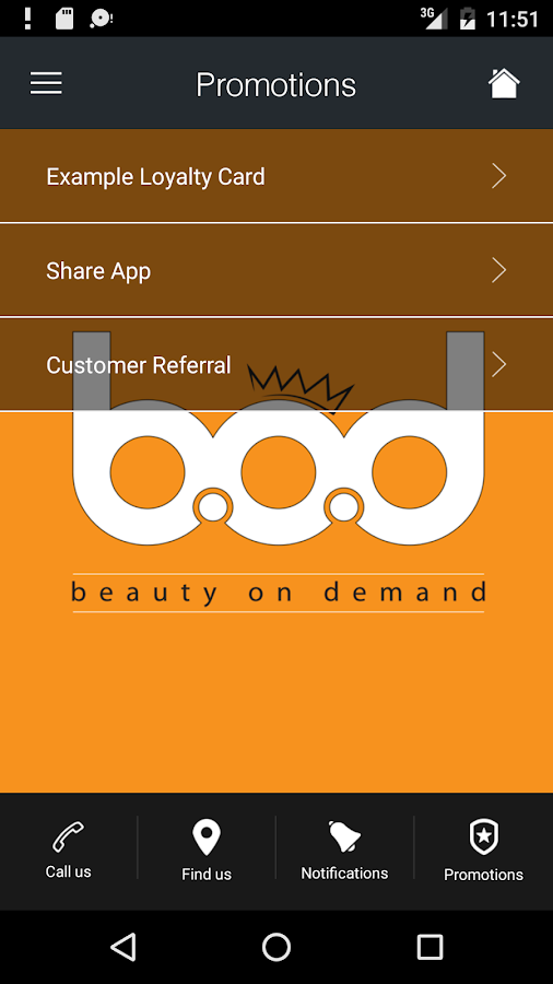 Beauty On Demand- screenshot