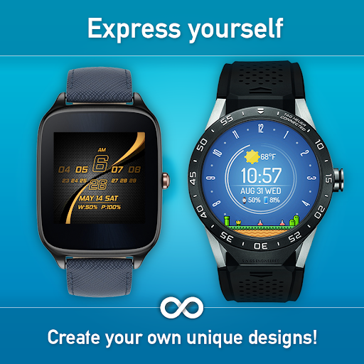 Download Watch Face - Minimal & Elegant for Android Wear OS MOD APK 5