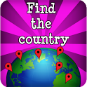 Find the countries - Map Game icon
