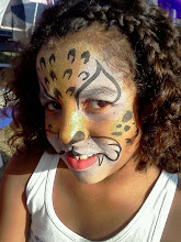 Photo: Leopard face paint by Teressa in Fountain Valley, Ca.Call to booked Teressa for your next event: 888-750-7024