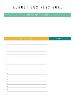 Linear Document - Business Plan item