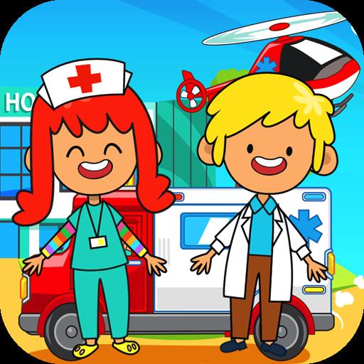 My Pretend Hospital - Kids Hospital Town Life FREE