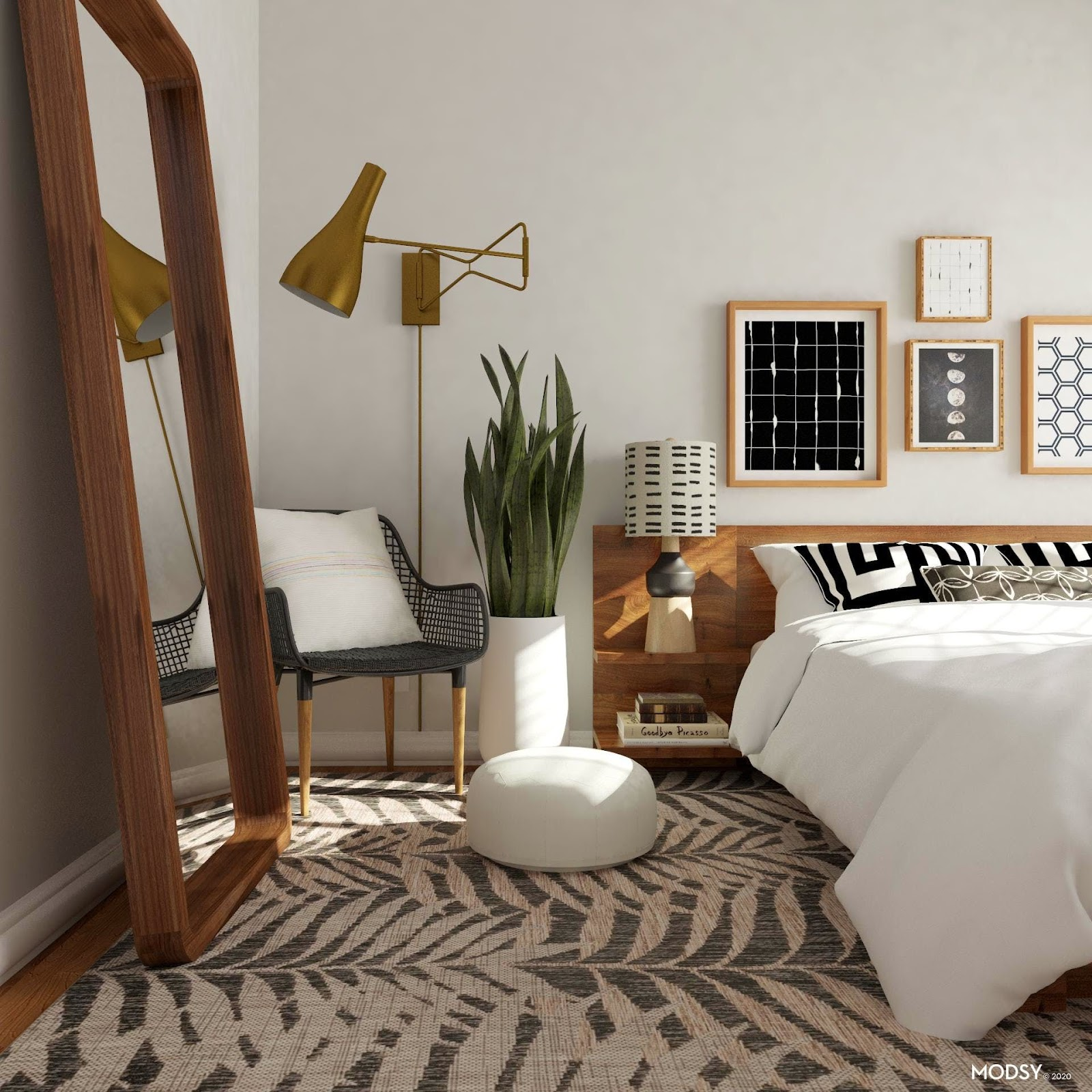 Geo Eclectic Mid-Century Modern Style