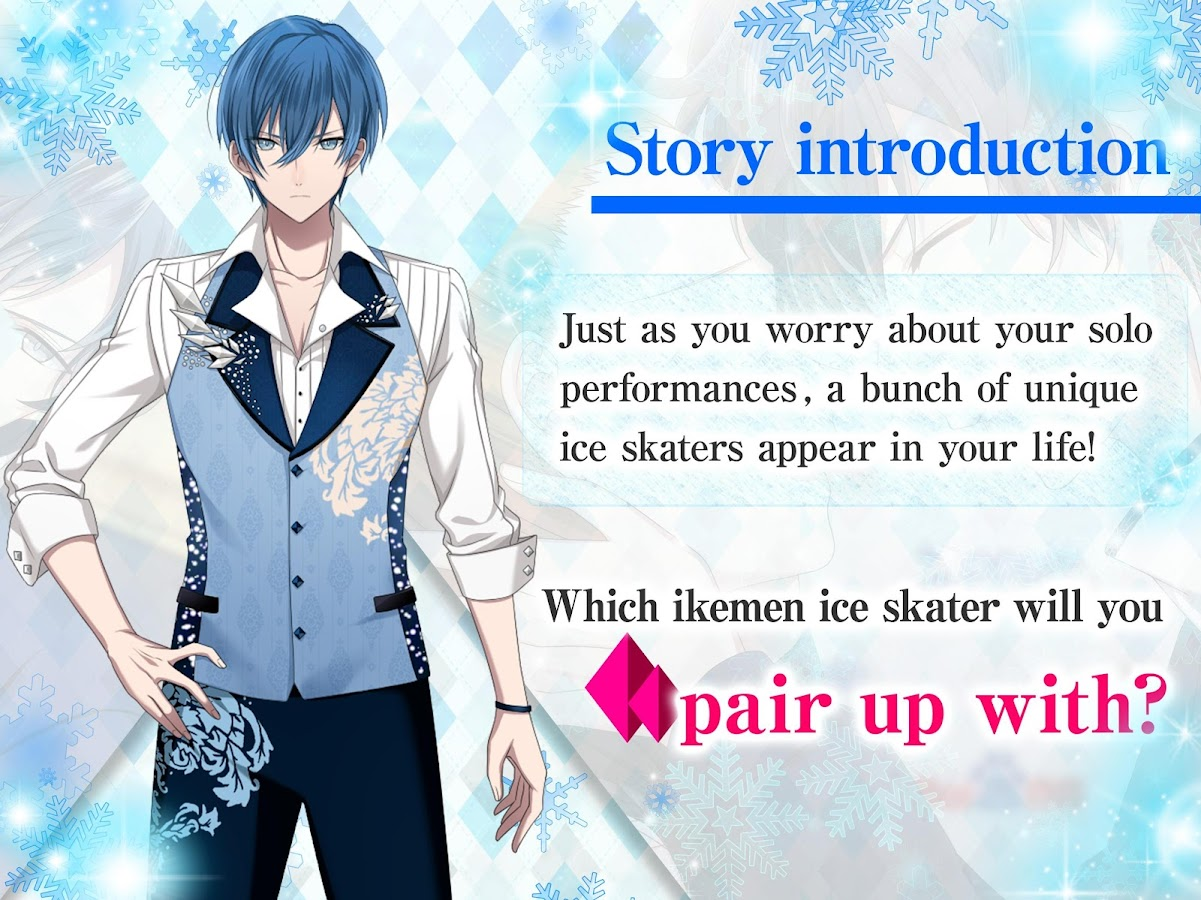 Love Ice Rink | Otome Dating Sim Otome game- screenshot