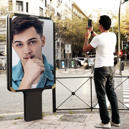 Hoarding Photo Frames New Icon
