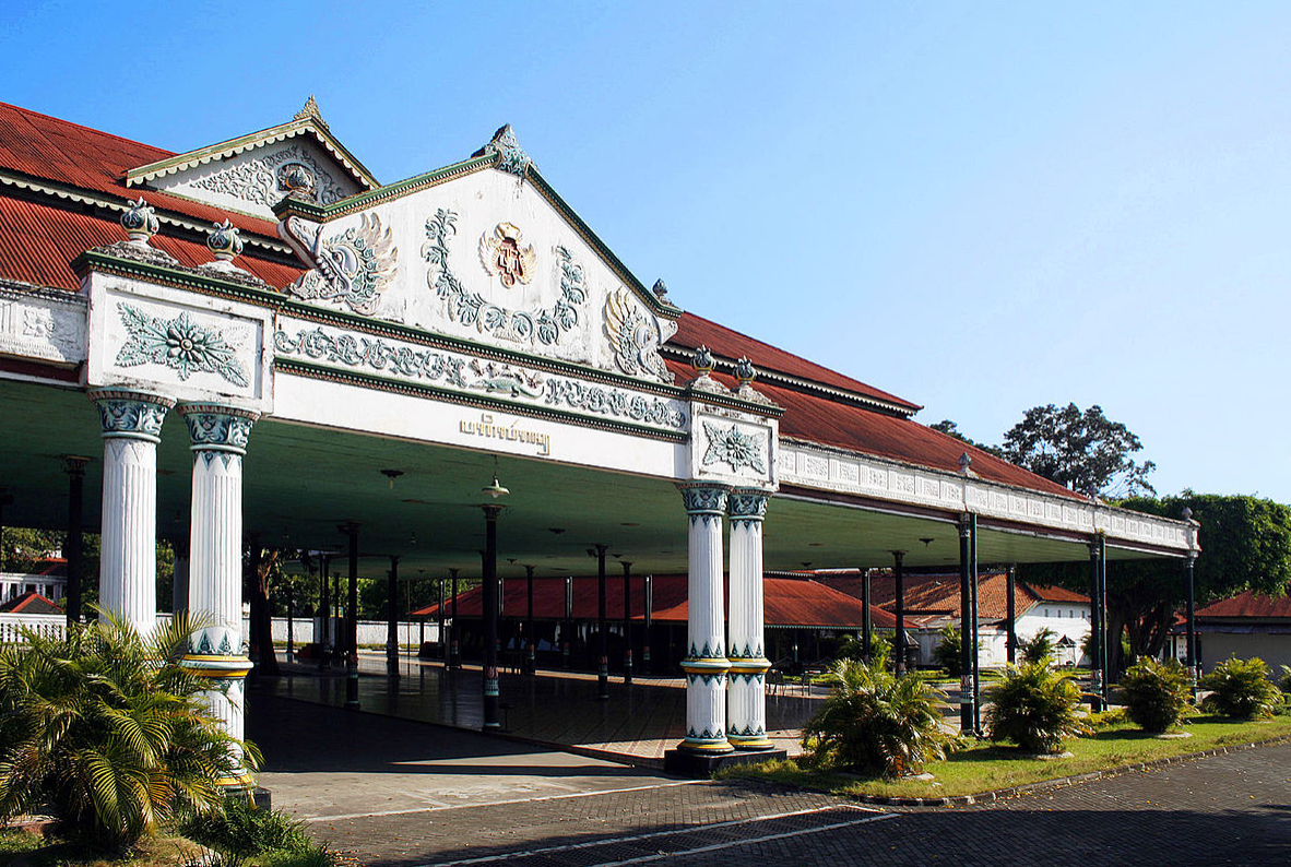 the historical palace in yogyakarta