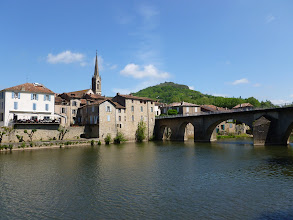 Photo: St Antonin - vue sur le pont