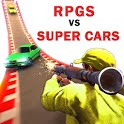 Superhero cars lightning : RPGS vs Supercars icon