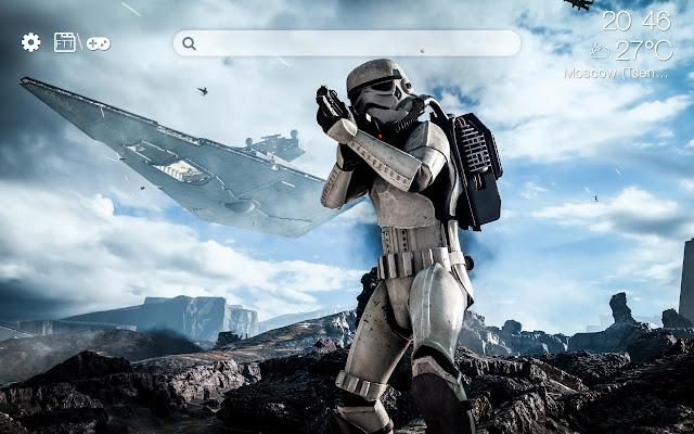 Star Wars HD new free tab theme