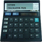 CITIZEN CALCULATOR