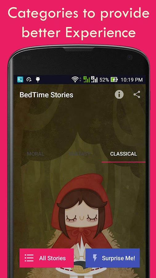 Short bedtime stories free android apps on google play for Bed stories online