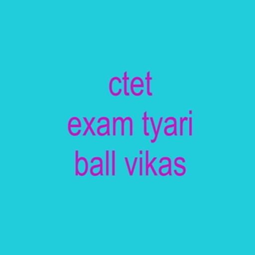 ctet exam tyari bal vikas – Apps on Google Play